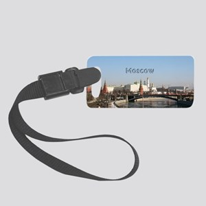 Moscow_4x9.25_FlatCard_Kremlin Small Luggage Tag